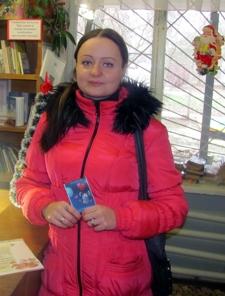 Благодарность за книги подаренные в библиотеку в Еленском,Арсеньево